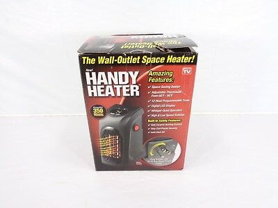 New Handy Heater The Wall Outlet Space Heater As Seen On TV 350 Watts