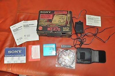Sony Mz-R70 Md Walkman , Perfect In Box
