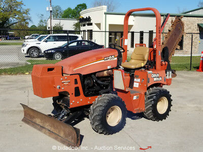 2012 Ditch Witch RT45 4x4 Ride-On Trencher Backfill Blade Side Shift Repair