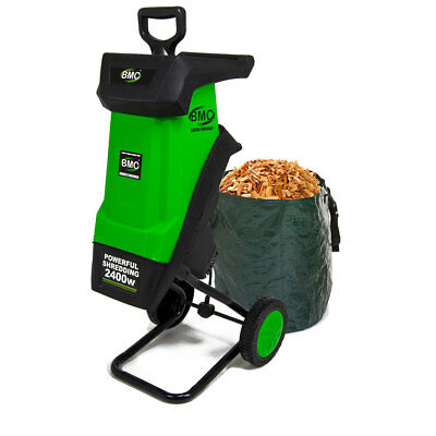 BMC 2400W Electric Garden Shredder / Electric Cutter Mulcher Chipper