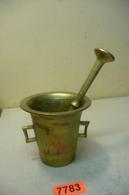 Nr. 7783.  Alter Bronzemörser Bronze Mörser Old  Apothecary Mortar and Pestle