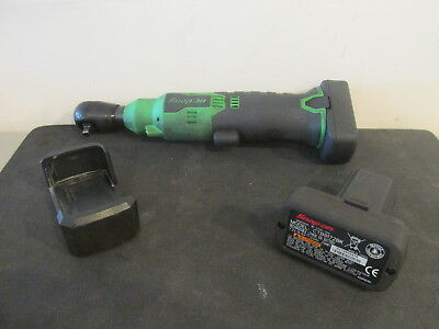 "Snap On 1/4"" Ratchet 14.4V Green CTR714AG with 2 batteries CTB8172BK"