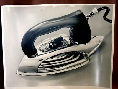 Vtg Original 1940s Photo PETIPOINT Iron 11x14 B&W Appliance Advertising Picture