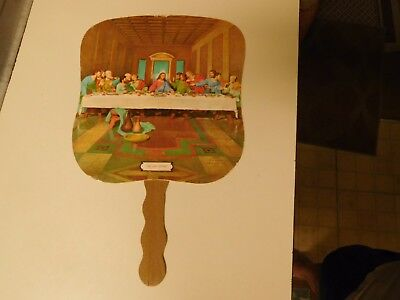 '60's Oldie Hand Held Fan  ( Last Supper )