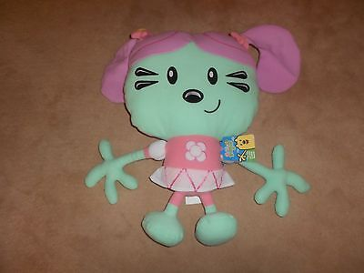New, Wow Wow Wubbzy Daisy Cuddle Pillow, 25""