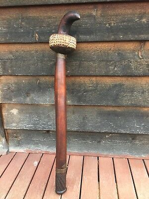 Vintage Fijian War Club