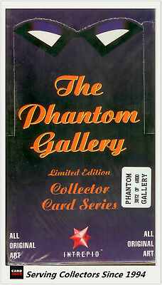 Dynamic PHANTOM SERIES 3 Card- THE PHANTOM GALLERY  Factory Case (10 x36 packs)