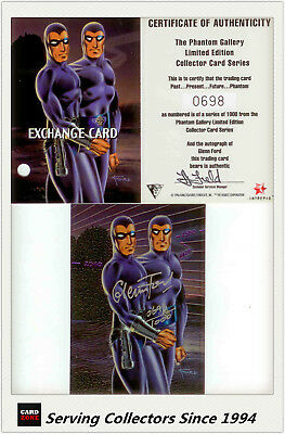 Dynamic The Phantom Gallery Trading Card Signature Redemption Card P3 (Redeemed)