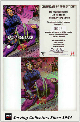 Dynamic The Phantom Gallery Trading Card Signature Redemption Card Y2 (Redeemed)