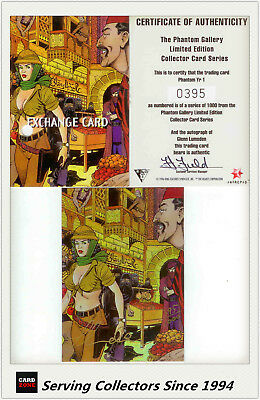 Dynamic The Phantom Gallery Trading Card Signature Redemption Card Y4 (Redeemed)