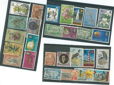 Barbados Used Stamp Collection#