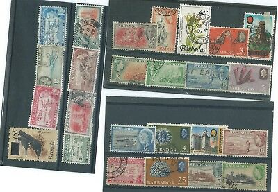 Barbados Used Stamp Collection@