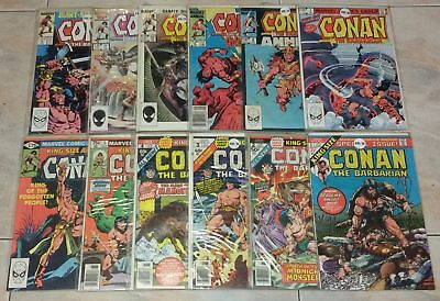 Conan the Barbarian King-Size Annual Issues 1/12 Marvel Comics