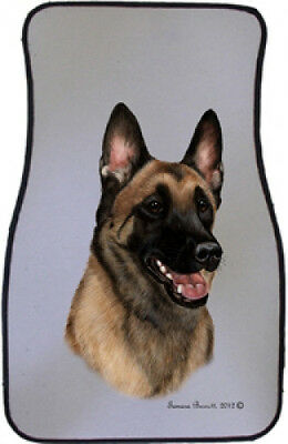 Car Floor Mats Pair - Belgian Malinois 36251