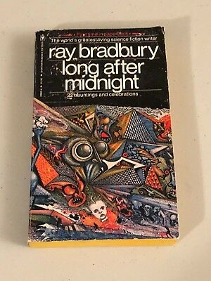 Ray Bradbury Author Long After Midnight Rare Signed Autograph Book