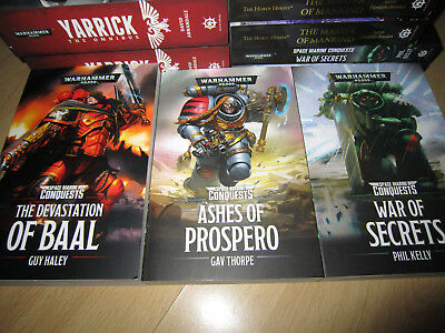 Space Marine Conquests DEVASTATION OF BAAL, ASHES OF PROSPERO & WAR OF SECRETS