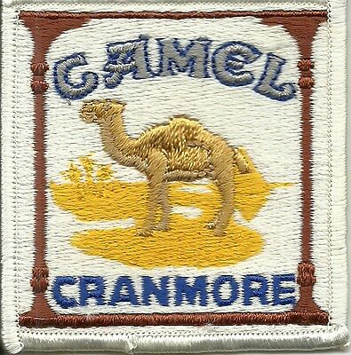"""SKI PATCH  NORTH CONWAY  CAMEL   MT CRANMORE  EVENT  FROM  80""""s  3 X 3 IRONON"""
