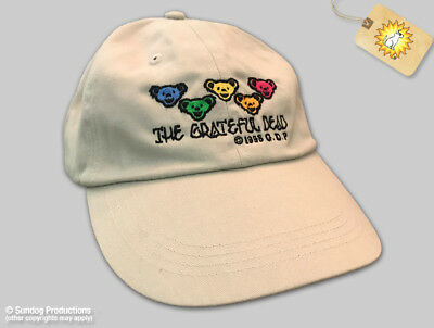 Hats New Authentic Grateful Dead Bears Embroidered Ball Cap