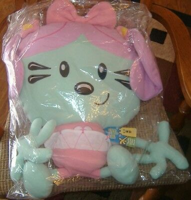 WOW WOW WUBZY Daisy Doll Plush  Cuddle Pillow  24 Inch Sewn Eyes-NWT