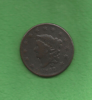 1832 Matron Head Large Cent - 186 Years Old!!!