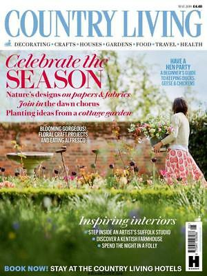 New Country Living Magazine May 2018