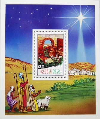 GHANA 1982 Block 98 A S/S 621 Weihnachten Christmas Religion 3 Holy Kings MNH