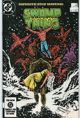 SWAMP THING # 31 - THE BRIMSTONE BALLET (MOORE SCRIPT - 2nd SERIES  SCARCE 1984)