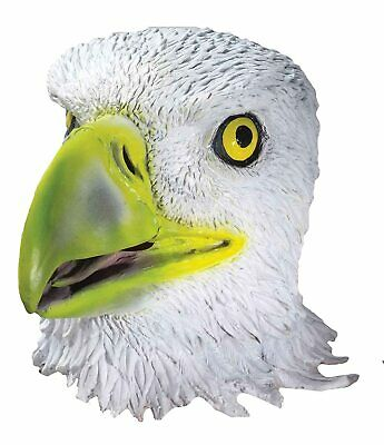Vulture Mask Bird Animal Fancy Dress Up Halloween Adult Costume Accessory