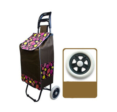 A205 Rugged Aluminium Luggage Trolley Hand Truck Folding Foldable Shopping Cart