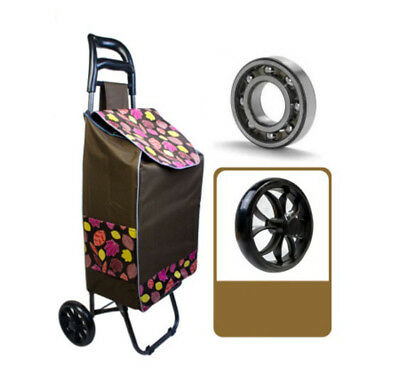 A207 Rugged Aluminium Luggage Trolley Hand Truck Folding Foldable Shopping Cart