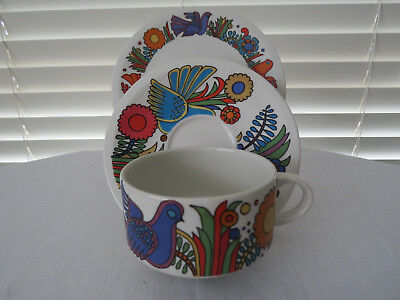 Villeroy & Boch - Acapulco  - Trio - Cup, Saucer and Bread and Butter Plate