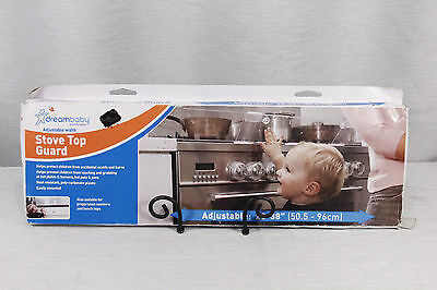 """NEW in box!  DreamBaby STOVE TOP GUARD, adjustable 20"""" - 38"""" , Tee-Zed,"""