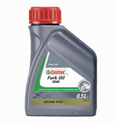 Castrol Enduro/MX/Bike/Motorcycle/Motocross Fork Oil - 0.5 Litre 500ml - 10W