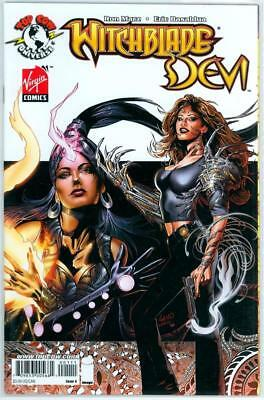 Witchblade Devi #1 Cover A B Variant Set Top Cow Virgin Comics