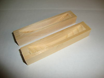 Two Wood Og Dust Covers New Wall Clock Parts