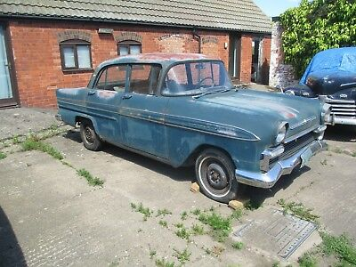 Vauxhall Envoy F Type Victor 1960 Classic Restoration Project