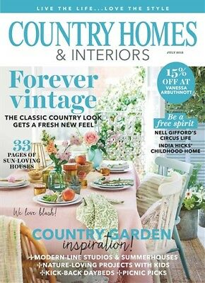 Country Homes & Interiors Magazine July 2018