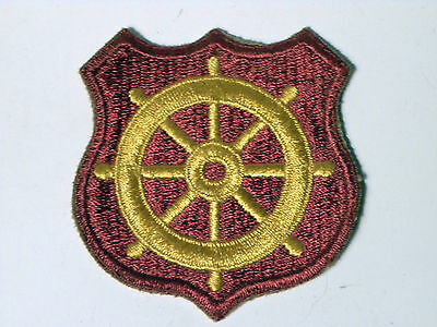 3699. Vintage WWII Shoulder Patch US Army Port of Embarkation NOS