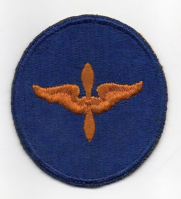 48083. Original WWII Shoulder Patch US Army Air Forces Aviation Cadet oval NOS