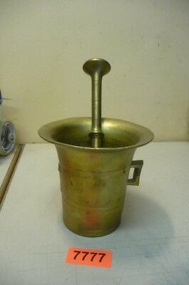 Nr. 7777.  Alter Bronzemörser Bronze Mörser Old  Apothecary Mortar and Pestle
