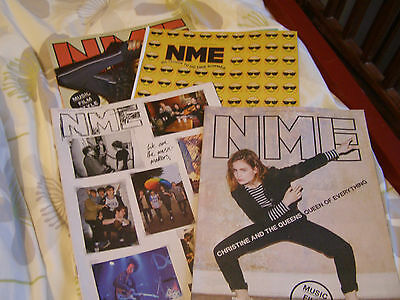 NME - #9 JOB LOT / SET / COLLECTION / BUNDLE x FOUR ISSUES FROM 2016