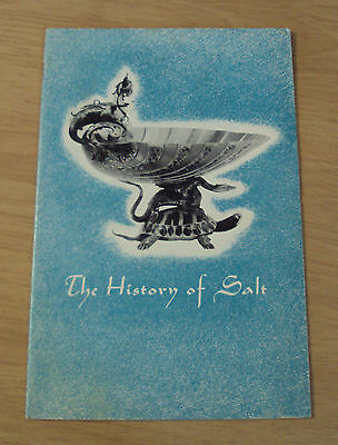 "1956 MORTON Advertising Booklet~""The HISTORY of SALT""~"