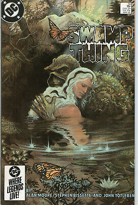 SWAMP THING # 34 - RITE OF SPRING ( MOORE SCRIPT - 2nd SERIES - SCARCE 1985 )