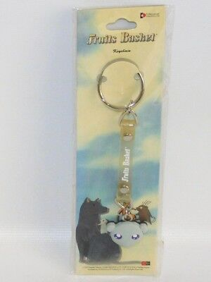 "Fruits Basket Yuki Sohma 1"" Rat Face Rubber Key Chain NEW Anime Manga Keychain"
