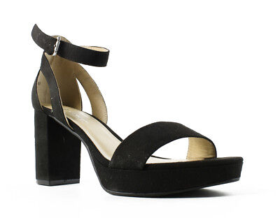 bc6462aba62 CL by Chinese Laundry Womens Goonsupersuede BlackSuperSuede Ankle Strap  Sandals
