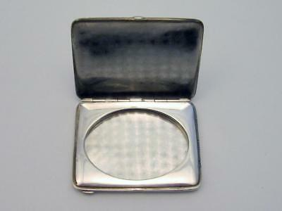 Antique Sterling Silver Traveling Compact Picture Photo Frame No Reserve
