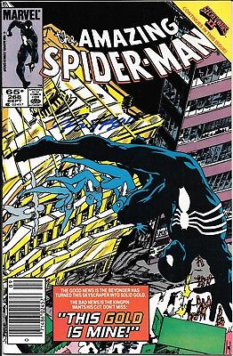 The Amazing Spider-Man #268 Signed by Ron Frenz