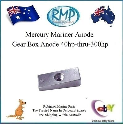 New Gear Box Anode Mercury Mariner 40hp-thru-300hp 2/Stroke # CDZ9-53