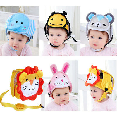 Baby Toddler Safety Helmet Headguard Kids Soft Infant Head Protection Hats Cap