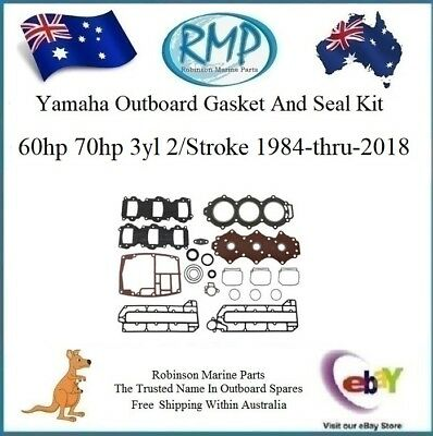 A Brand New Power Head Gasket Kit Yamaha 60hp-70hp 3yl 2/Stroke # R 6H3-W0001-00